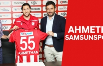 AHMETHAN SAMSUNSPOR'DA